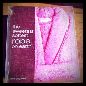 Brand New Hot Pink Thick Turkish Bathrobe